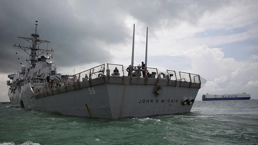 EE.UU.: Acusan de homicidio por negligencia a los comandantes de dos buques de la Armada
