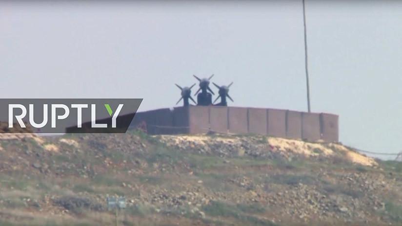 VIDEO: Turquía despliega complejos de misiles Tomahawk en la frontera con Siria