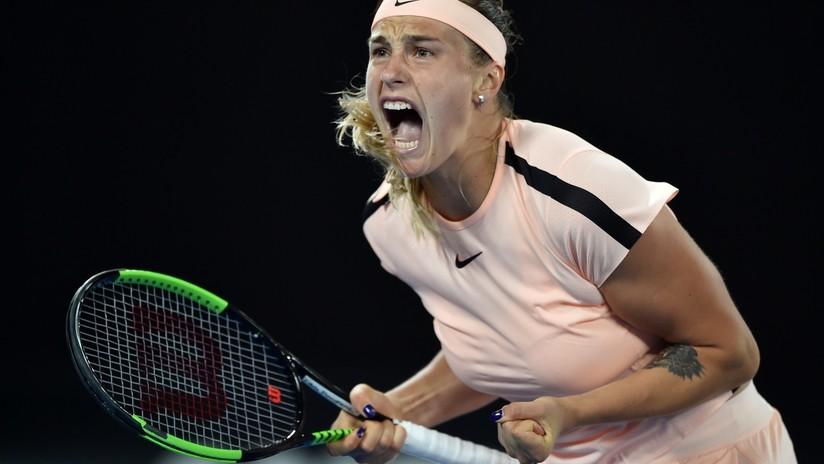 Gritos y gemidos: El público se burla de una tenista bielorrusa (VIDEO)