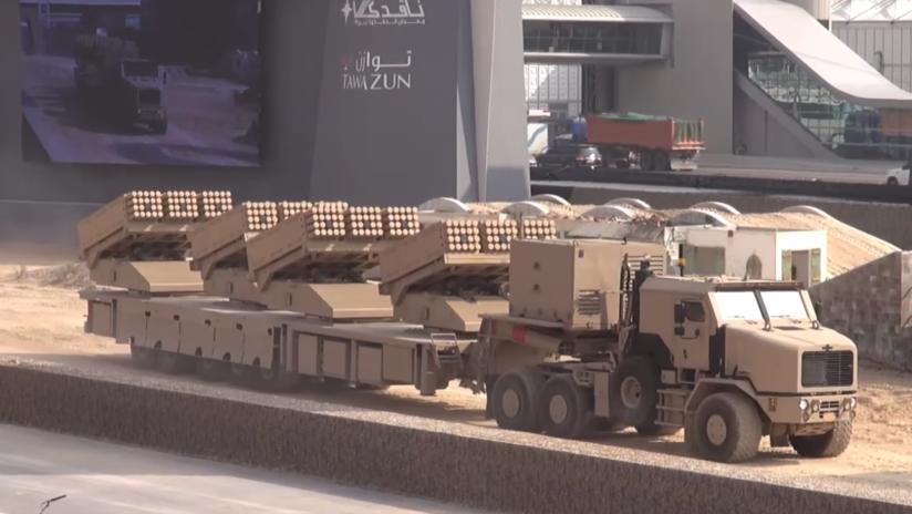 EAU despliega el mayor lanzacohetes del mundo para contener a los hutíes en Yemen (FOTOS)