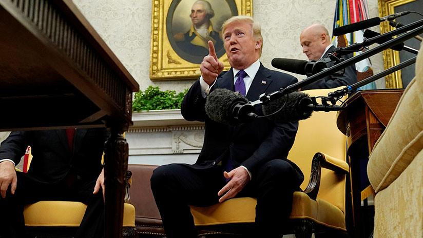 """Fuera"": Trump expulsa a un reportero de la CNN del Despacho Oval (VIDEO)"