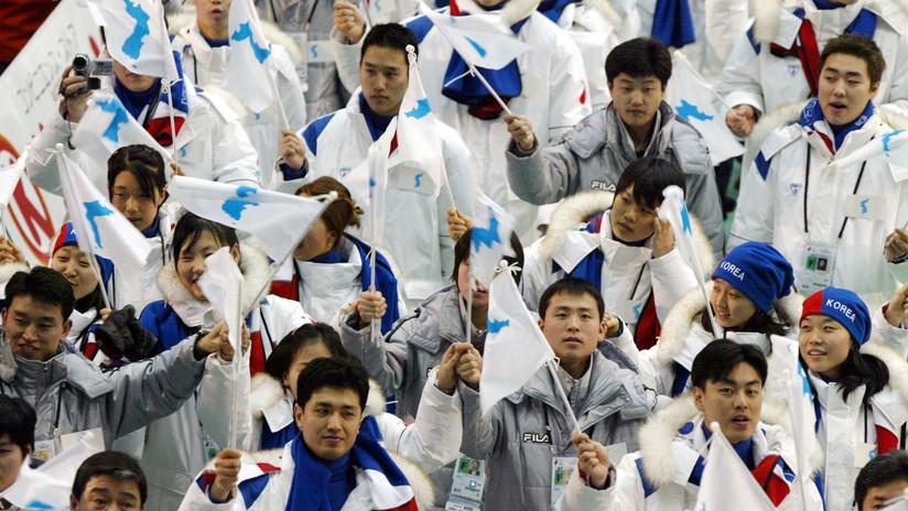 Las dos Coreas desfilarán bajo una bandera en los JJ.OO. de Invierno