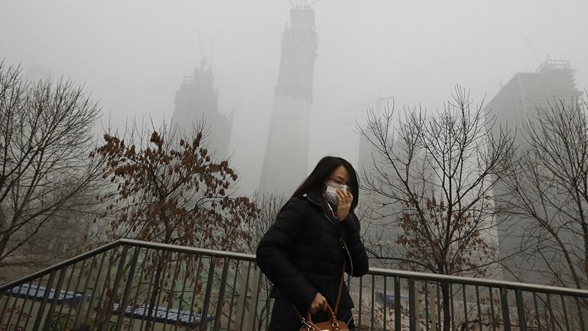 China combate el 'smog' con el purificador de aire más grande del mundo (FOTOS)