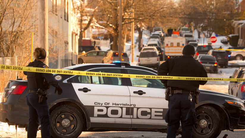 EE.UU.: Un alguacil muerto y varios policías heridos deja un tiroteo en la capital de Pensilvania