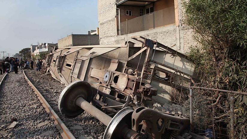 México: Tren se descarrila sobre una casa y mata a cinco personas en Ecatepec (FOTOS y VIDEO)
