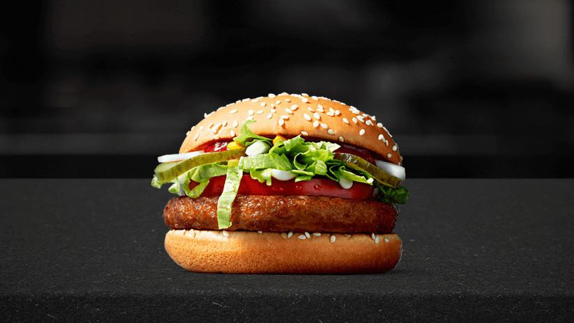 McDonald's saca al mercado una hamburguesa vegana