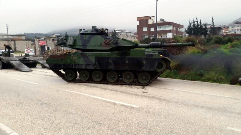Milicias kurdas afirman que Turquía ha atacado la región siria de Afrin