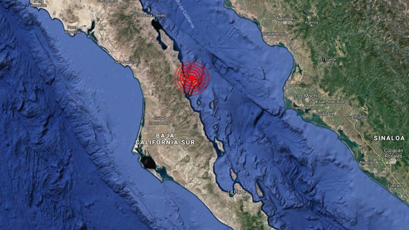 Sismo de magnitud 6,3 se registra en Loreto, México