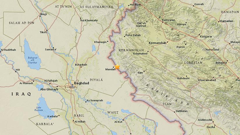 Se registra un sismo de 4,9 en Irán