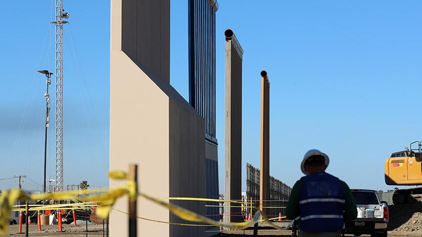 Los prototipos del muro fronterizo entre EE.UU. y México resultan impenetrables (FOTOS)