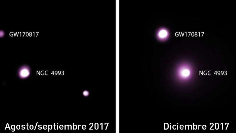 Explican el motivo del misterioso resplandor que se observa en el espacio