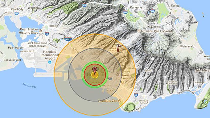 """""""Catastrófico"""": Expertos predicen las consecuencias de un ataque nuclear norcoreano sobre Hawái"""