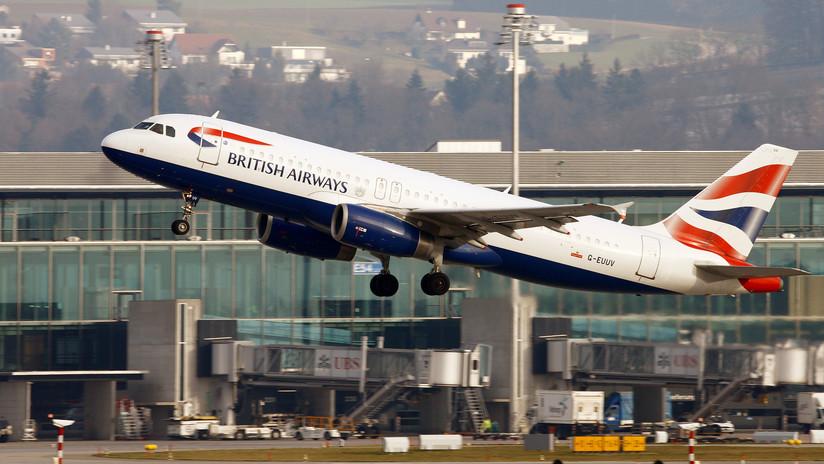 Un piloto British Airways ebrio es detenido segundos antes de despegar