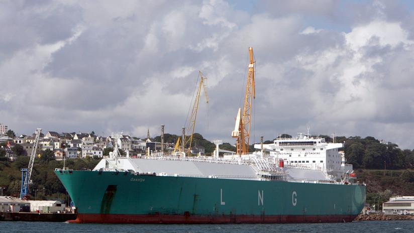 La propietaria del barco con gas licuado ruso revela por qué dio un giro antes de llegar a EE.UU.