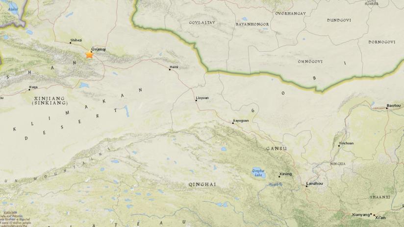 Un sismo de 5,1 sacude la parte noroccidental de China