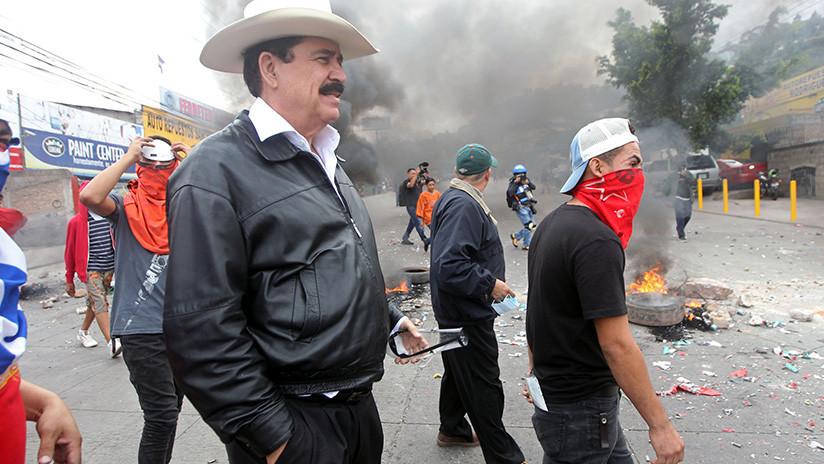 Un muerto, varios heridos y detenidos tras una nueva jornada de protestas de opositores en Honduras