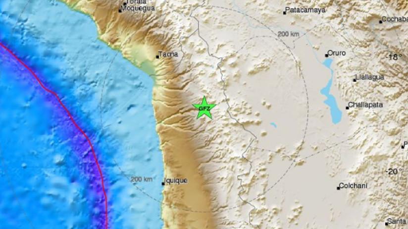 Un fuerte sismo sacude Chile y Perú