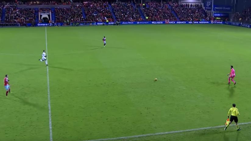 ¡Imperdible!: Un portero español marca un golazo desde 70 metros el día de su cumpleaños (VIDEO)