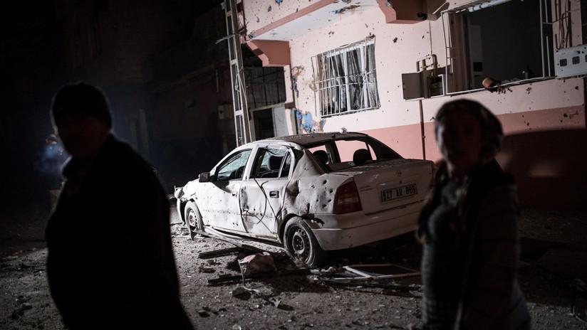 Misiles lanzados desde Siria caen en una ciudad fronteriza turca