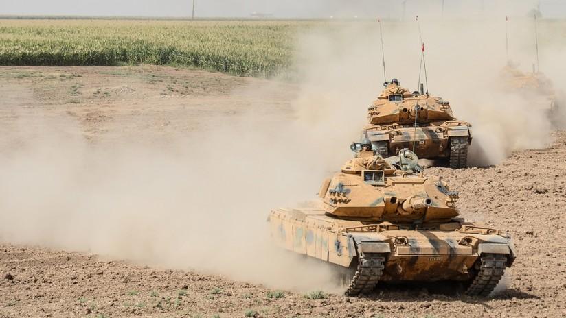 Tanques turcos entran en la ciudad siria de Afrín y comienzan operaciones de apoyo
