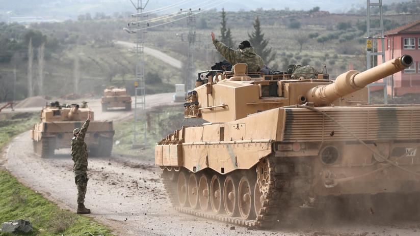 'Rama de Olivo': Turquía ataca a las milicias kurdas en Afrín (MINUTO A MINUTO)