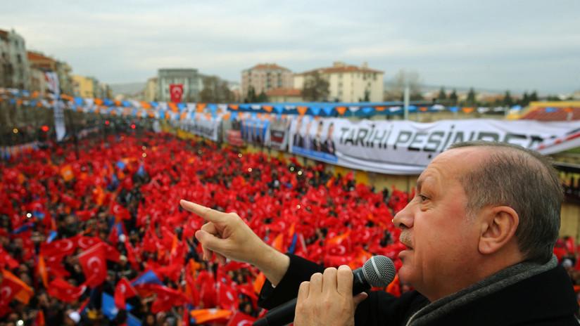 """Erdogan promete completar la operación en Afrín """"en muy poco tiempo"""""""