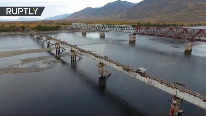 VIDEO INFARTANTE: Vea el puente más peligroso de Rusia