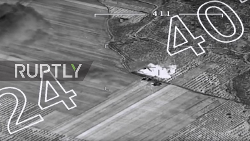 VIDEO: Aviación turca ataca posiciones de los kurdos sirios