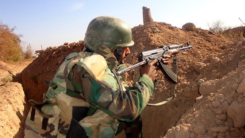El Ejército sirio empieza la aniquilación de 1.500 terroristas de Jabhat al-Nusra en Idlib