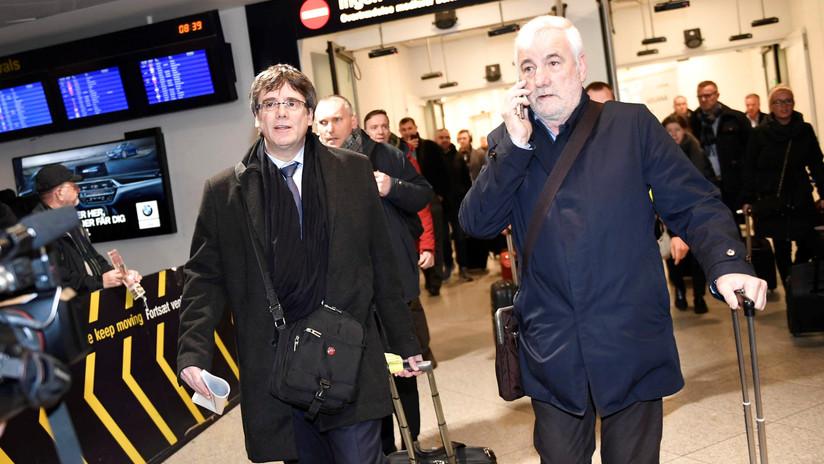 La Fiscalía de España solicita la activación de la euroorden contra Puigdemont
