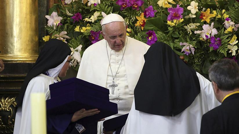 """El papa Francisco compara a las """"monjas chismosas"""" con """"terroristas"""" de Sendero Luminoso"""