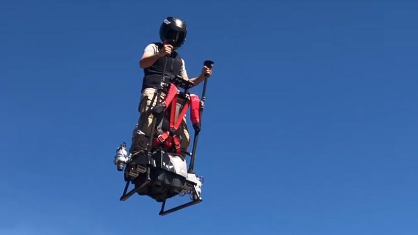 VIDEO: El 'segway volador' que cualquiera puede pilotar