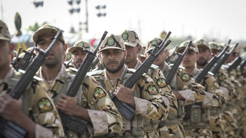 Irán realiza maniobras militares a gran escala en su costa sur