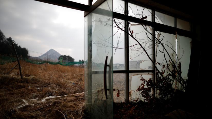 Instalaciones fantasma: Así está la faraónica estación de esquí surcoreana abandonada hace 12 años