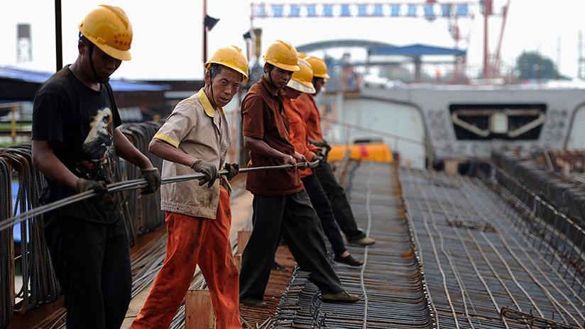 Alta velocidad: Ejército de trabajadores chinos reconstruye una estación de tren en 9 horas (VIDEO)