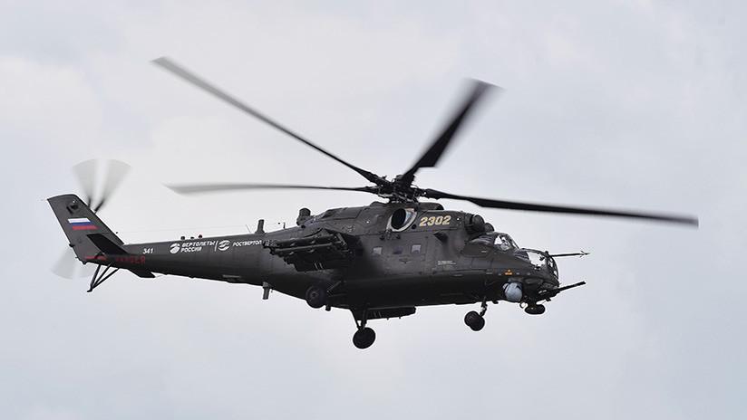 """VIDEO: Sépalo todo del helicóptero Mi-35M, el """"soldado universal"""" del Ejército ruso, en un minuto"""