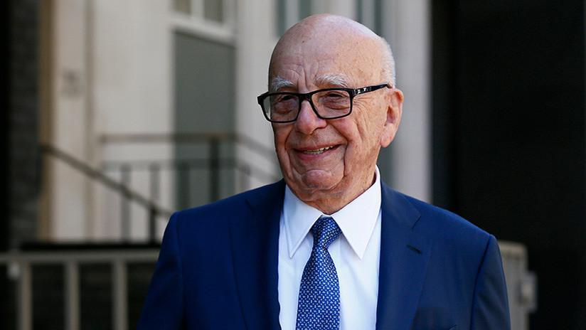 El magnate Rupert Murdoch sugiere que Facebook debería  pagar a los medios por sus noticias fiables
