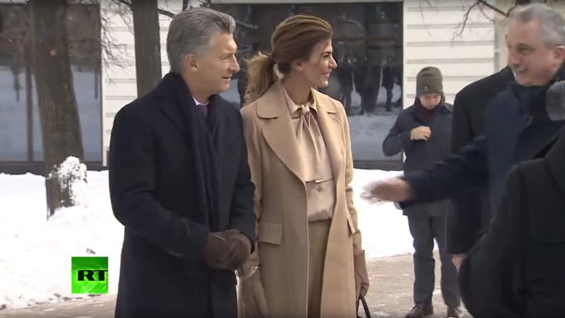 VIDEO: Mauricio Macri inaugura la plaza de Argentina en Moscú