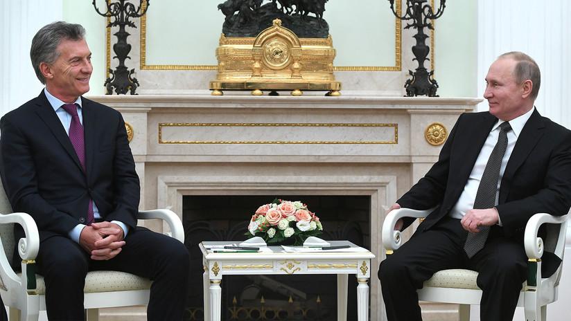 Mauricio Macri agradece a Vladímir Putin por la ayuda en la búsqueda del ARA San Juan