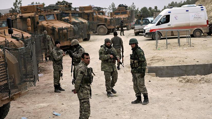 Operación Rama de Olivo en Siria: Militares turcos han abatido 260 kurdos en Afrín