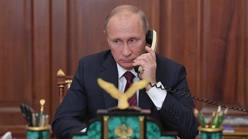 Putin y Erdogan abordan por teléfono la situación en Siria y las operaciones turcas en Afrín
