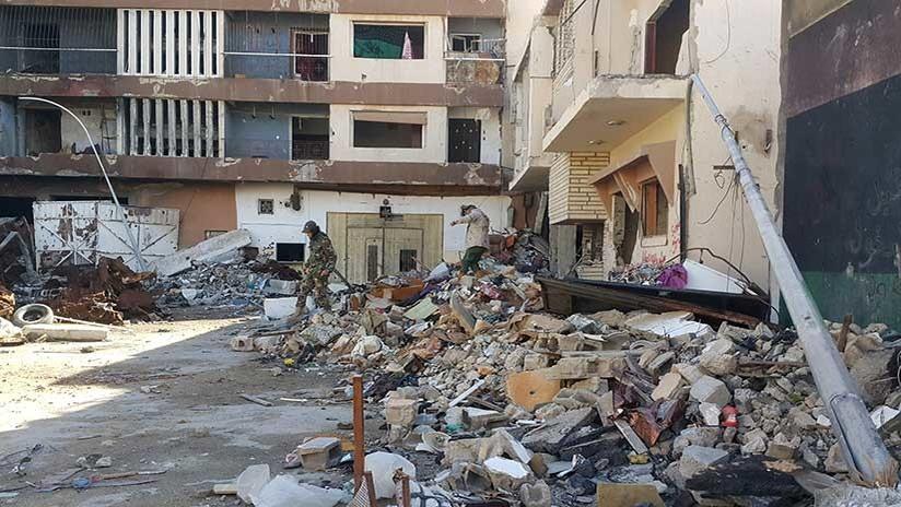 Ascienden a 22 muertos en atentados con coche bomba en Libia