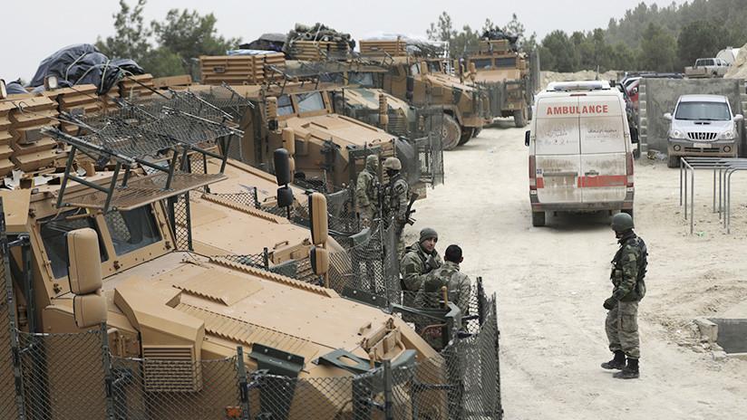 """Erdogan busca """"frustrar los juegos"""" a lo largo de las fronteras turcas con Siria"""