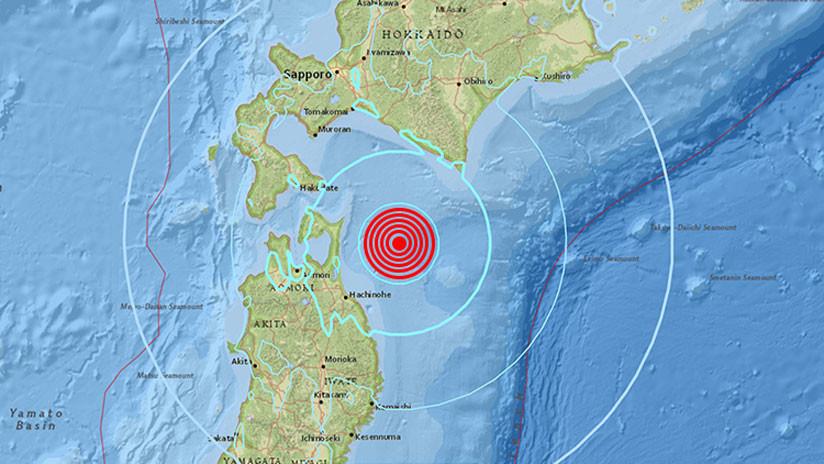 Un sismo de magnitud 6,2 sacude Japón