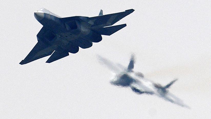 El caza ruso Su-57 ya vuela con armas de nueva generación