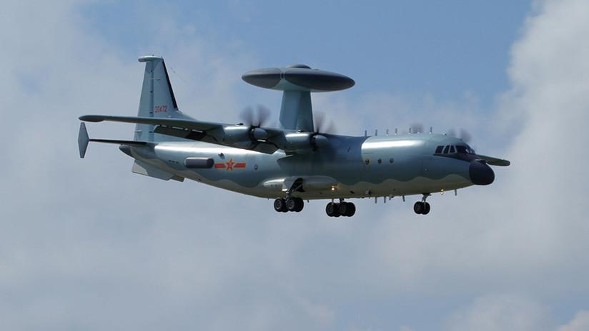El 'terror' de los cazas furtivos de EE.UU.: China desarrolla un avanzado avión de alerta temprana