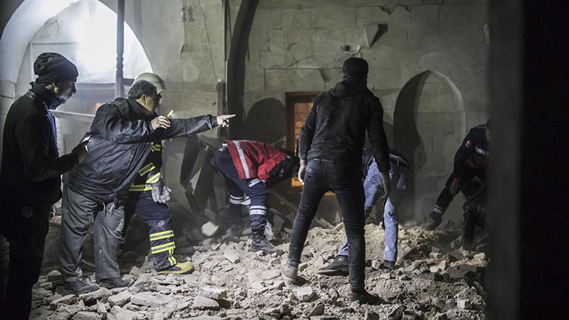 Dos misiles procedentes de Siria provocan un muerto y 13 heridos en Turquía