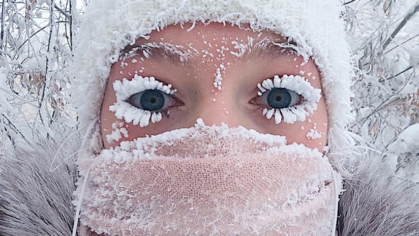 A 60 grados bajo cero: Cómo viven los rusos una ola de frío récord (FOTOS)