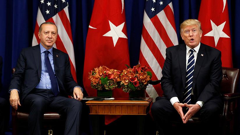 Erdogan a Trump: EE.UU. tiene que dejar de proveer armas a los kurdos en Siria