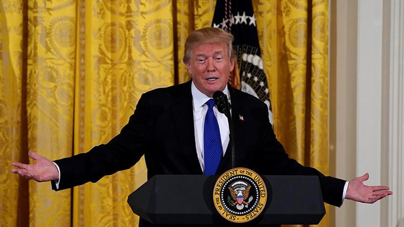 """Trump """"está deseando"""" que le interroguen sobre sus presuntos vínculos con Rusia"""